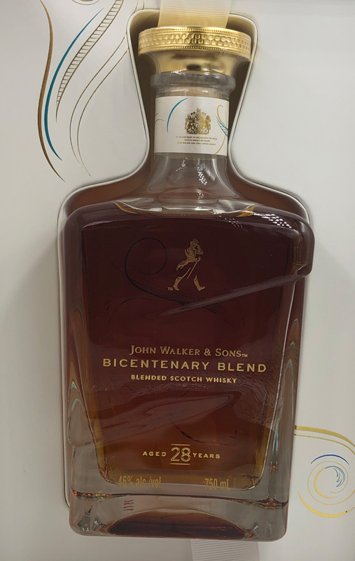 Johnnie Walker 28 Year Bicentenary Blend 750ML
