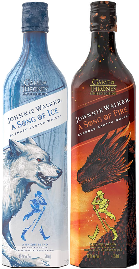 Johnnie Walker a Song of Fire & Ice Game of Thrones 2 Pack