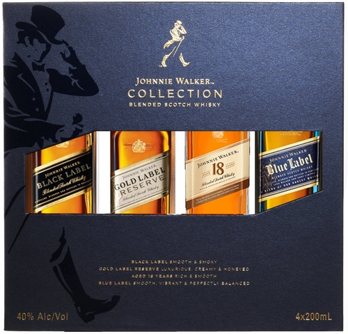 Johnnie Walker Blended Scotch Collection Gift Pack