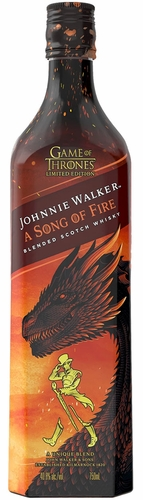 Johnnie Walker Song of Fire Game of Thrones Blended Scotch 750ML