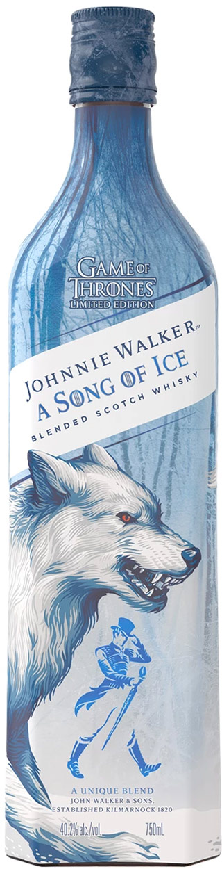 Johnnie Walker Song of Ice Game of Thrones Blended Scotch 750ML