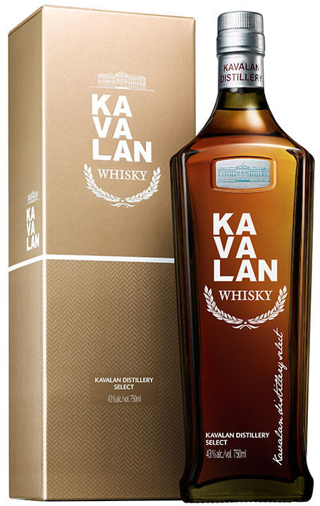 Kavalan Distillery Select Single Malt Taiwanese Whisky