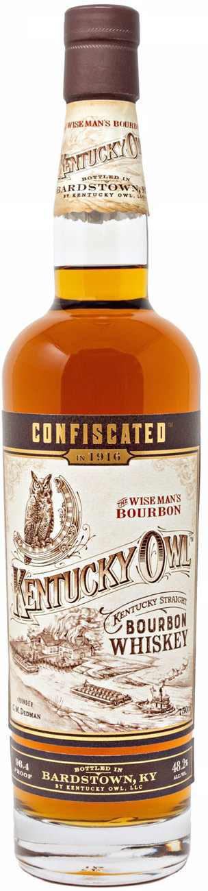 Kentucky Owl Confiscated Bourbon Whiskey 750ML