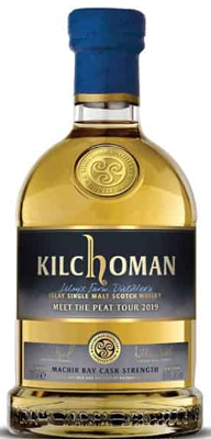 Kilchoman Machir Bay Cask Strength Meet the Peat Tour 2019 750ML