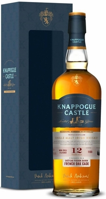 Knappogue Castle 12 Year Old Pichon Baron Cask Irish Whiskey 750ML