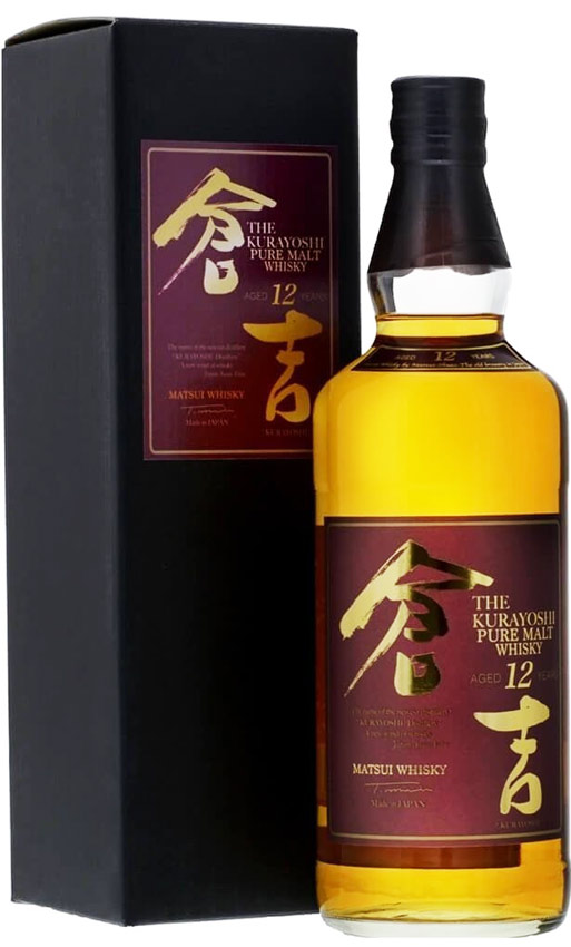 Kurayoshi 12 Year Old Japanese Whisky