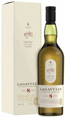 Lagavulin 8 Year Old Single Malt Scotch