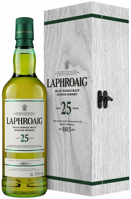 Laphroaig 25 Year Old Single Malt Scotch 750ML