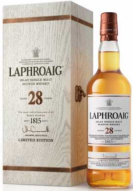 Laphroaig 28 Year Old Single Malt Scotch 750ML