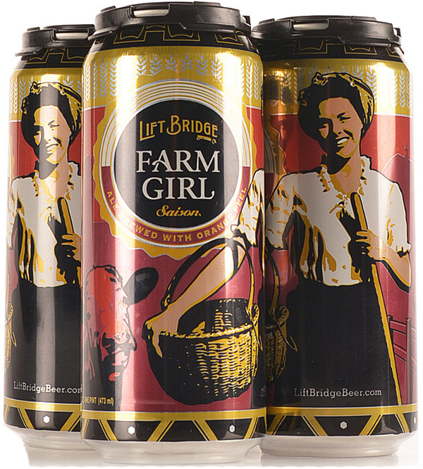Lift Bridge Farm Girl Saison 6PK Cans