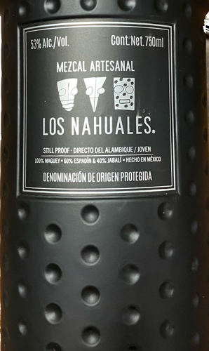 Los Nahuales Black Bottle 750ML