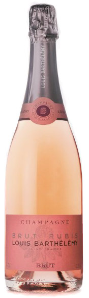 Louis Barthelemy Brut Rose Rubis Champagne 750ML