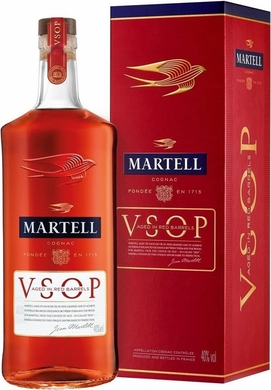 Martell VSOP Cognac Aged in Red Barrels