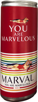 Marval Red 250ml (case of 24)