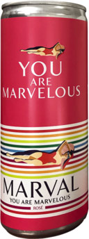 Marval Rose 250ml (case of 24)