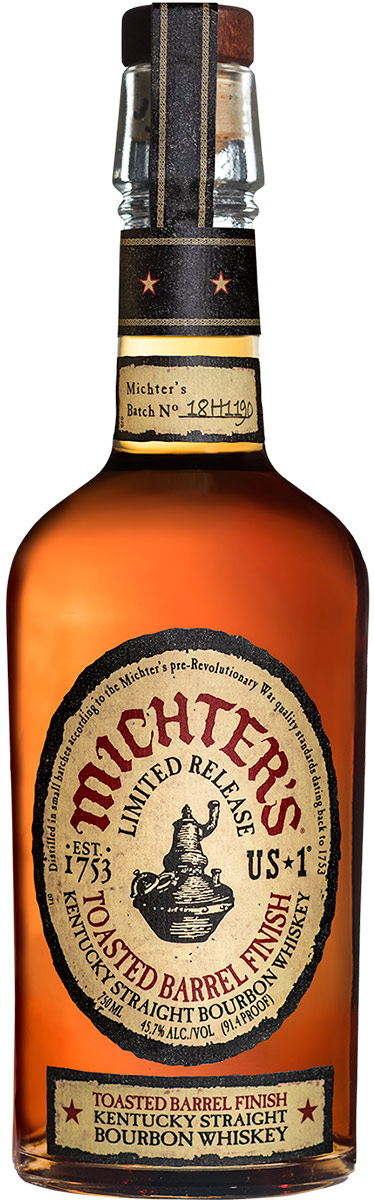 Michters Toasted Barrel Finish Bourbon