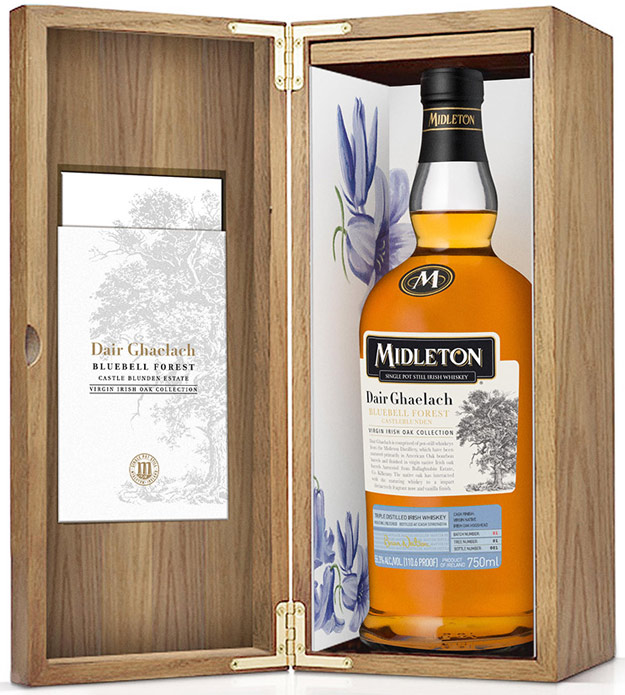 Midleton Dair Ghaelach Bluebell Forest Tree 4 Irish Whiskey 750ML