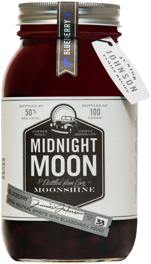 Midnight Moon Blueberry Flavored Moonshine 750ML