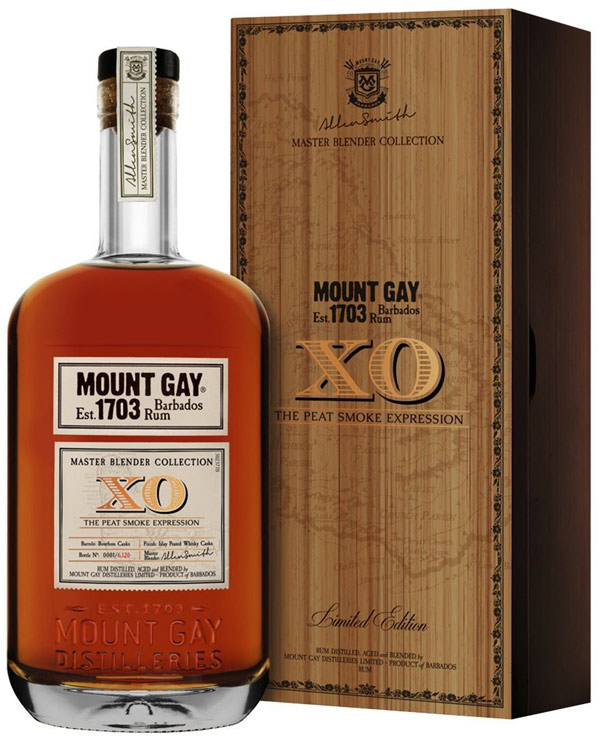 Mount Gay Master Blender Collection XO Rum the Peat Smoke Expression
