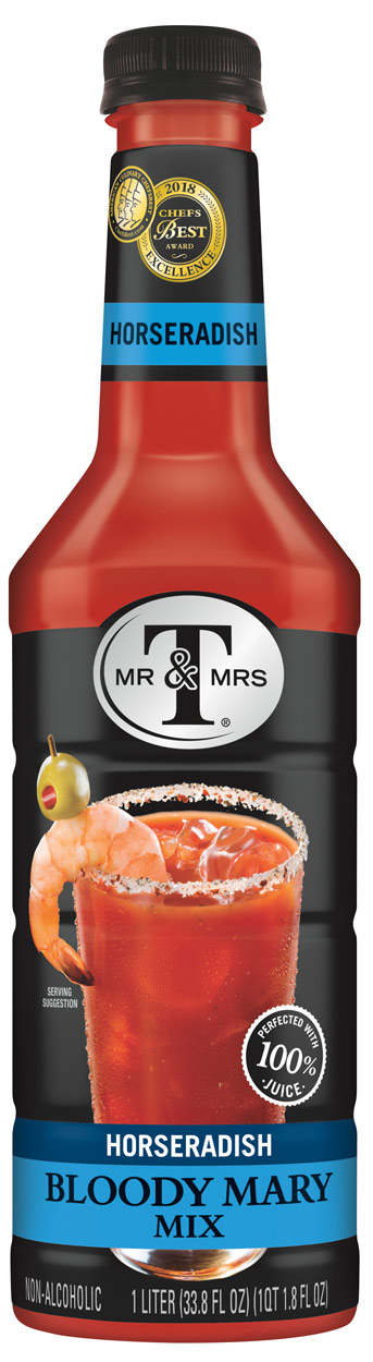 Mr. & Mrs. T Horseradish Bloody Mary Mix 1L