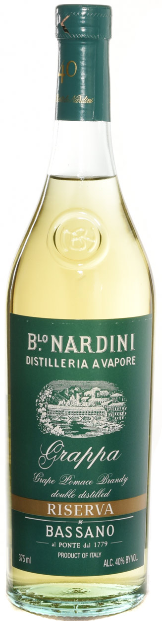 Nardini Riserva Green Label Grappa 375ML N/V