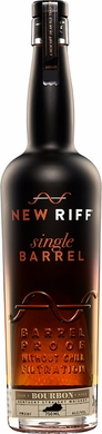 New Riff Single Barrel Bourbon Whiskey
