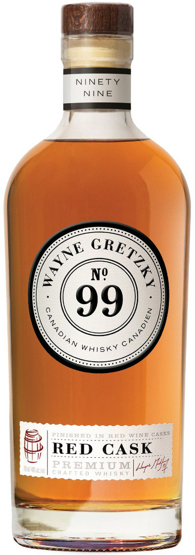 No. 99 Wayne Gretzky Red Cask Canadian Whisky