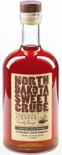 North Dakota Sweet Crude Cinnamon & Spice Liqueur 750ML