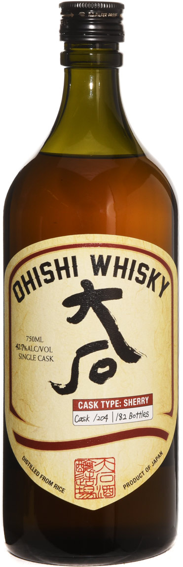 Ohishi Sherry Cask Finish Japanese Whisky- Ace Spirits Selection