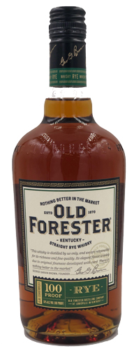 Old Forester Rye Whiskey 750ML