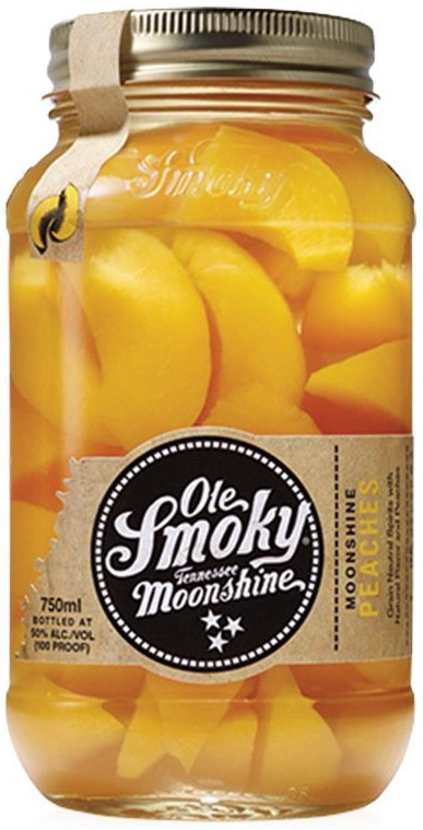 Ole Smoky Peaches Flavored Moonshine 750ML