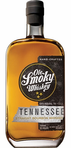 Ole Smoky Whiskey Tennessee Straight Bourbon Whiskey 750ML