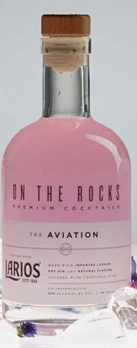 On The Rocks Aviation Larios 375ML