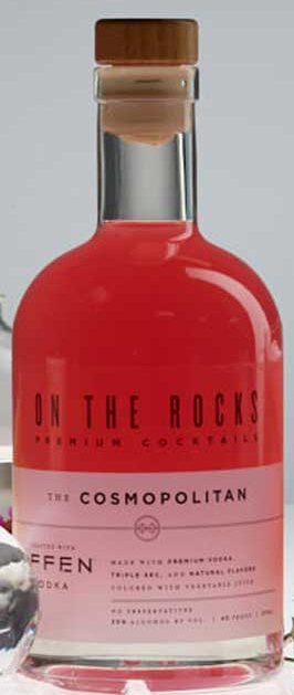 On The Rocks Cosmopolitan Made with Effen 375ML