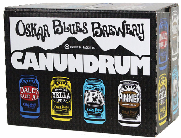 Oskar Blues Canundrum Variety 15pk