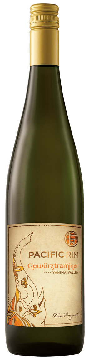 Pacific Rim Twin Vineyard Gewurztraminer 750ML 2015