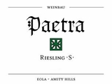 Paetra Eola Amity Hills Riesling 2016