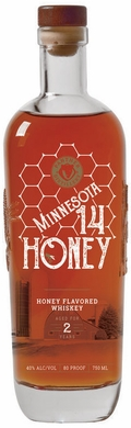 Panther MN 14 Honey Flavored Whiskey