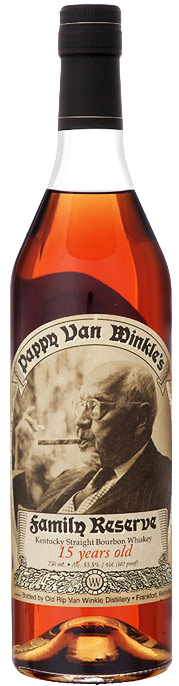 Pappy Van Winkle Family Reserve 15 Year Bourbon 750ML