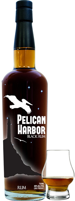 Pelican Harbor Black Rum 750ML