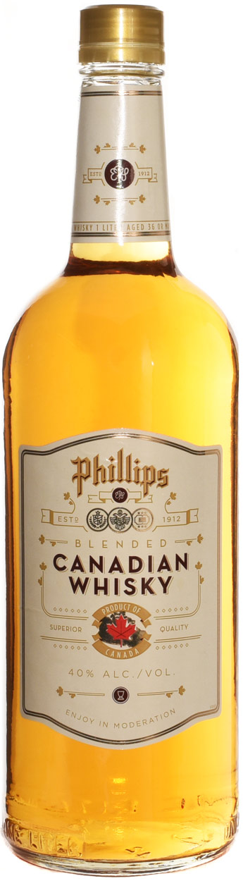 Phillips Canadian Whiskey 1L