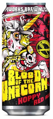 Pipeworks Blood of the Unicorn Hoppy Red Ale