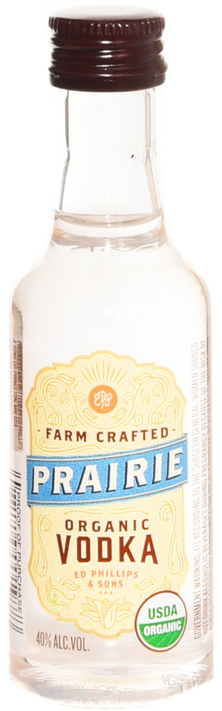 Prairie Organic Vodka 50ml- Buy Prairie Vodka Miniatures