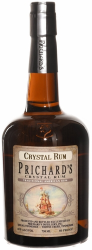 Prichards Crystal Rum 750ML