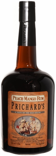 Prichards Peach Mango Rum 750ML