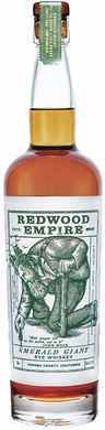 Redwood Empire Emerald Giant Rye Whiskey 750ML