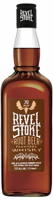 Revel Stoke Roasted Apple Flavored Canadian Whisky 1L