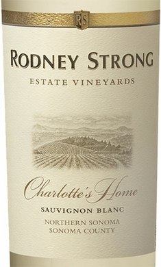 Rodney Strong Estate Vineyards Charlottes Home Sauvignon Blanc 2017