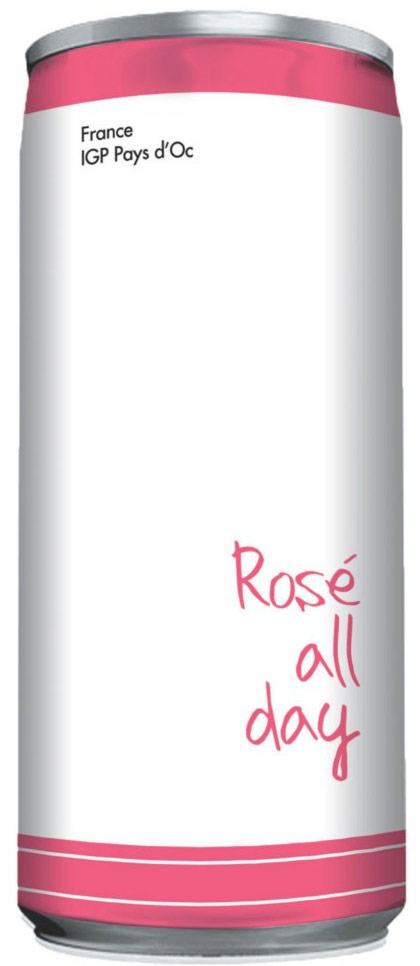 Rose All Day 250ml Can 2017