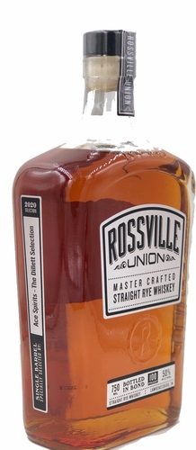 Rossville Union Straight Rye Ace Spirits - The Dillett Selection 2020